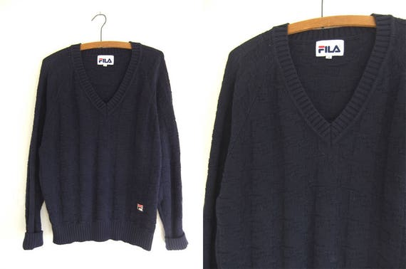 Fila Zopfmuster Tennis Pullover adrette Efeu-minimalistisch | Etsy