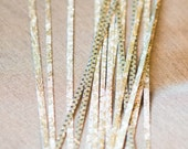 Shimmering Gold Quilling Strips