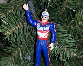 dale jarrett nascar christmas ornament many to choose from