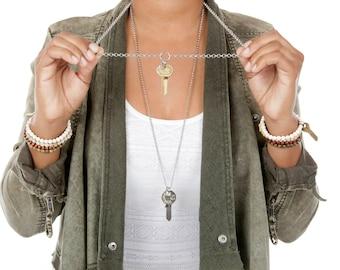 key necklace etsy
