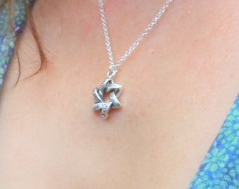 Shema necklace - The torah shema prayer necklace from israel - Shema Israel Pendant SILVER Necklace, Hebrew Jewish Prayer Yisrael Bible