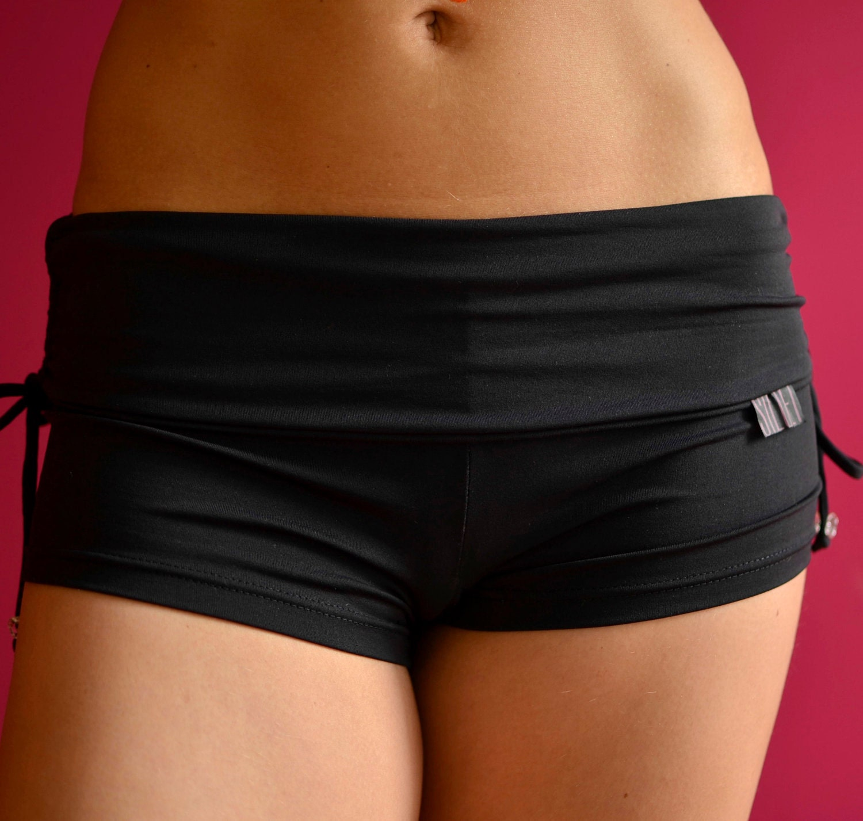 Shorts In Black For Bikram Yoga