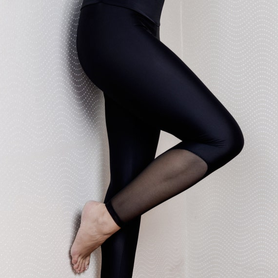 Leggings BACK To BLACK For Bikram Yoga
