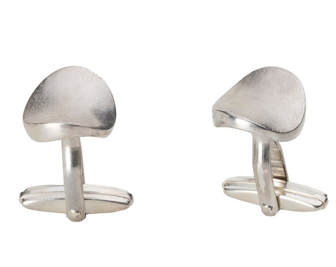 Cufflinks, 925/000 silver.