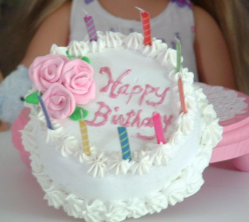 Birthday Cake for American Girl | Etsy