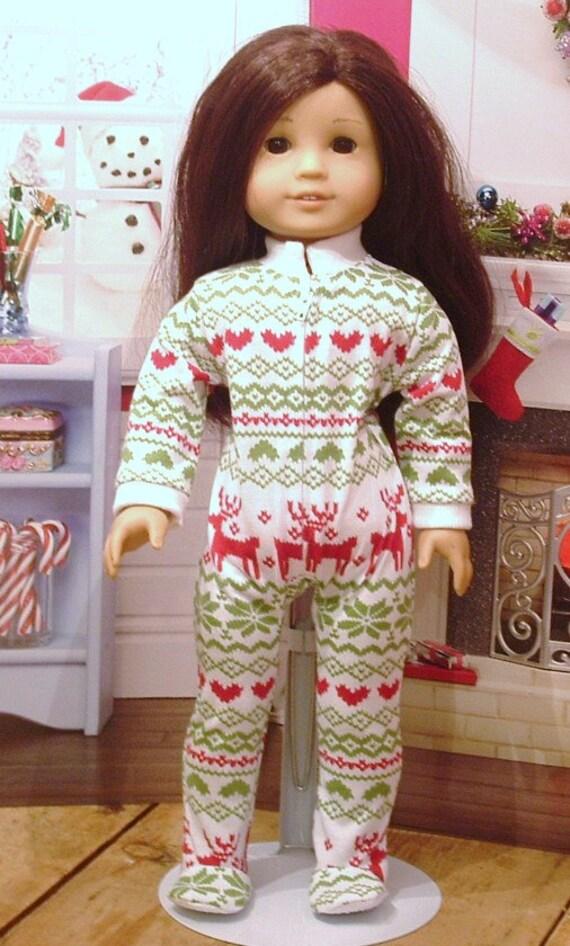 e613553abf Nordic Sleeper Pajamas for American Girl