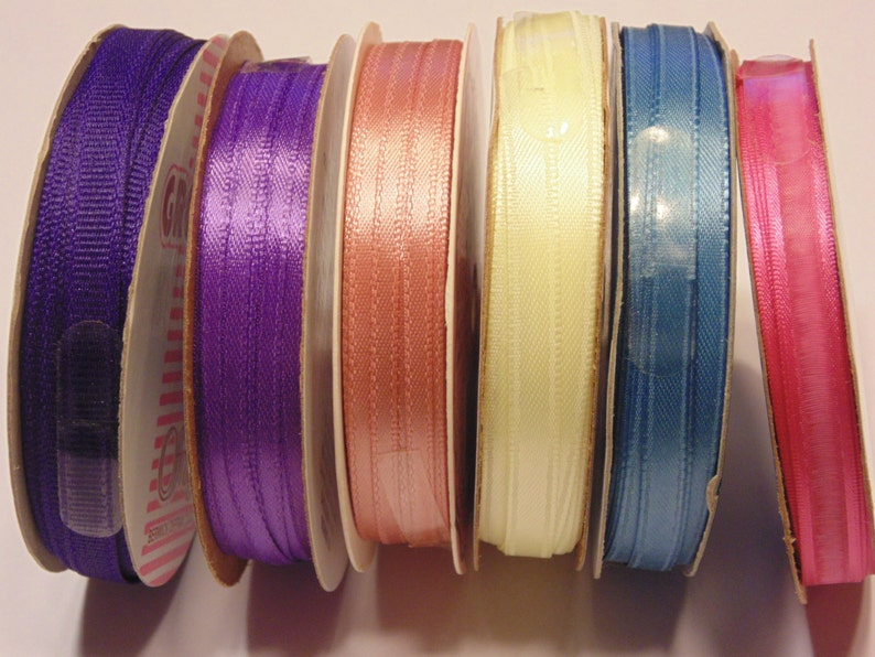 6 roll collection of ribbon HR30
