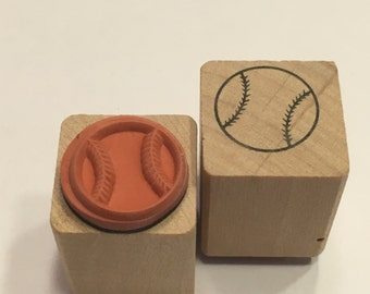 small / tiny baseball stamp, 15 mm (BB4/2)