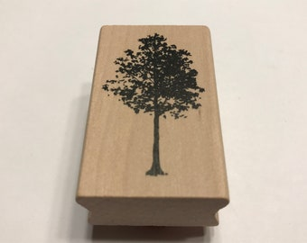 Rubber Tree stamp, 45 mm tall (BB1/5)