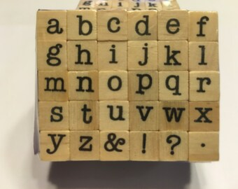 small alphabet stamp set, 9 mm (BB1/2)