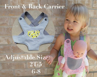 9874269109d Baby Doll Ergo Carrier Toddler Kid American Girl Big Sister Big Brother Gift