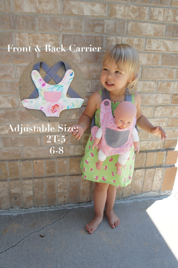 760e9b49b36 Baby Doll Carrier Stuffed Animal Carrier Kid Toddler Big