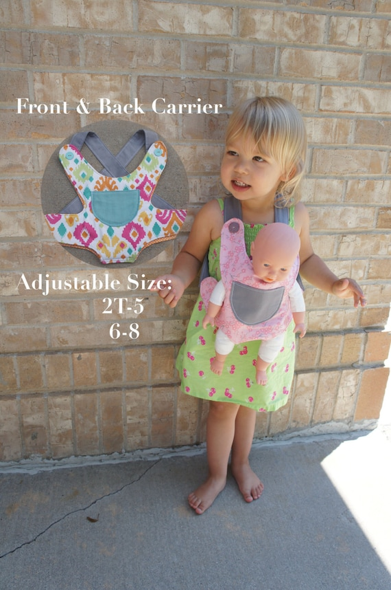 Baby Doll Carrier Sewing Pattern Doll Carrier Sewing | Etsy