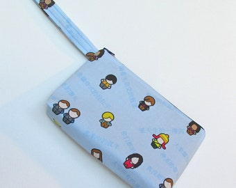 Wristlet - Firefly Serenity - Scattered Crew - Diaper Clutch