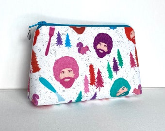 Happy Little Trees - Makeup Bag - Medium Pouch