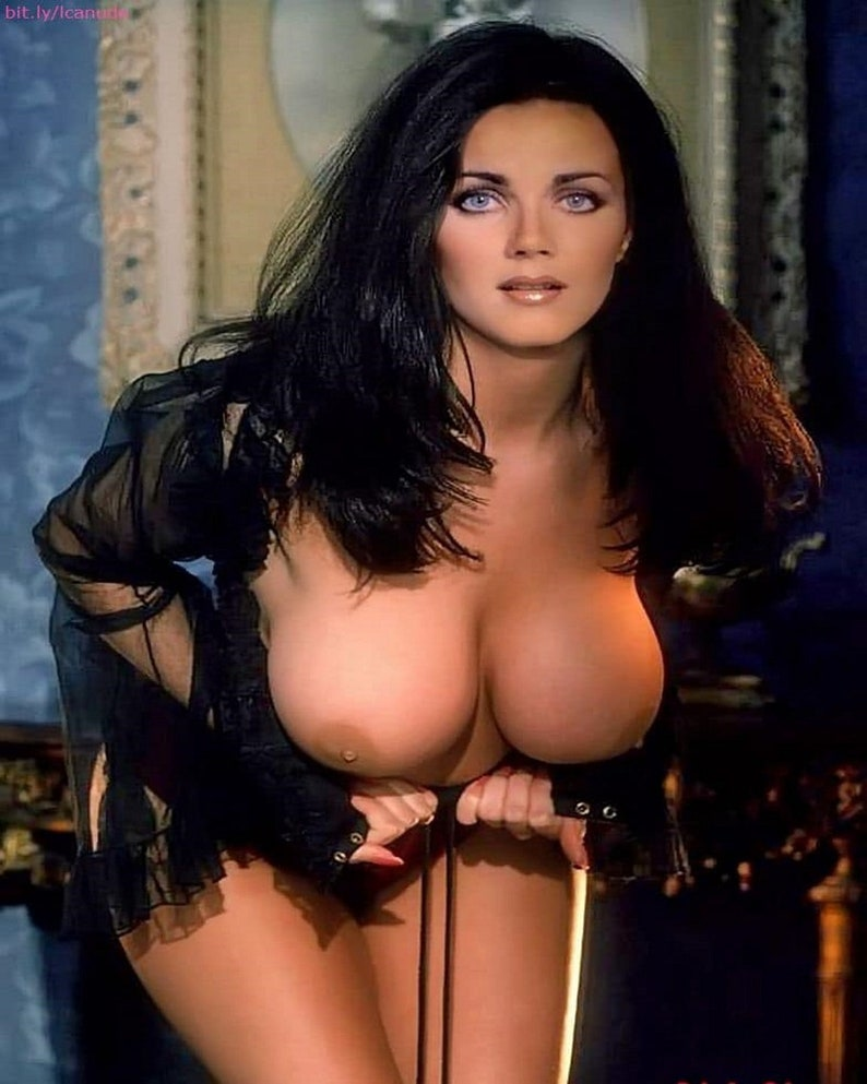 Lynda carter sexy busty pin