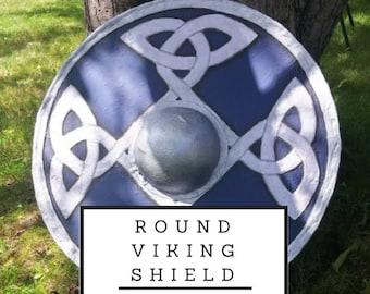 Round Viking Shield Pattern Digital Download