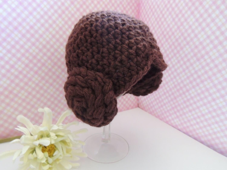 Princess Leia Star Wars Hat Free Shipping Baby Hat Princess Etsy