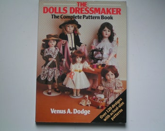 Vintage sewing book 1920s ribbon art ebook how to for rosettes vintage the dolls dressmaker the complete pattern book 1991 edition sold out braiding rawhide horse tack book fandeluxe Gallery