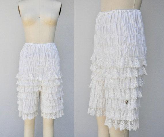 50s LACE Bloomers - Mid Century Bloomers Pantaloon