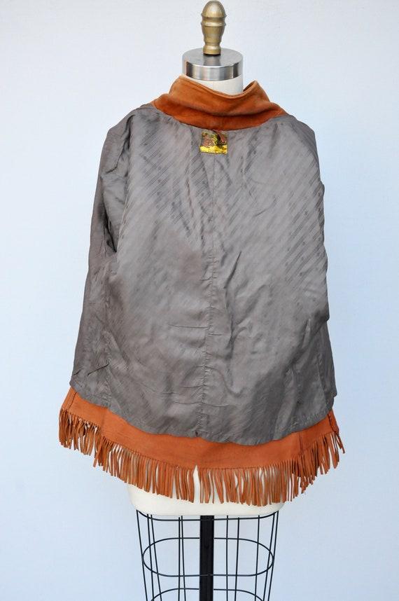 Vintage Fringed Leather Jacket - Leather Jacket -… - image 10