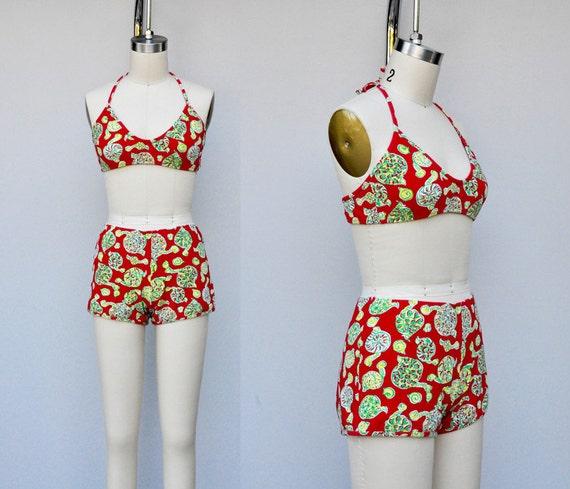 Vintage Lilly Pulitzer Bikini - Lilly Pulitzer Swi