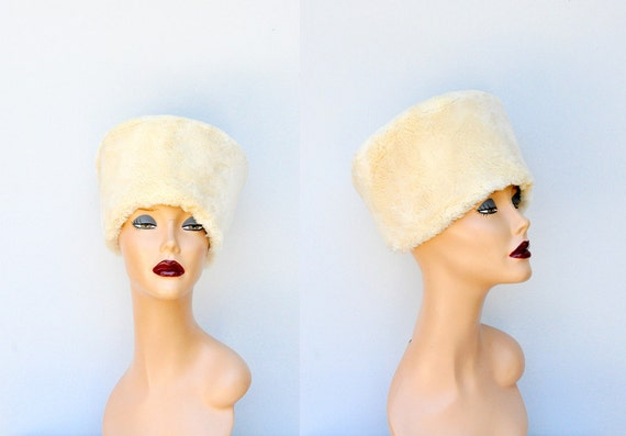 Rabbit FUR HAT - Genuine Fur Hat - Russian Hat - M