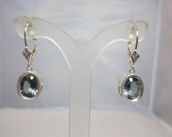 Rainbow Quartz Earrings