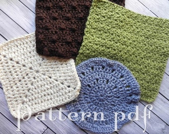 4 Crocheted Washcloth Patterns