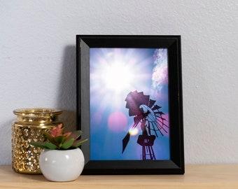 Windmill Photography Print