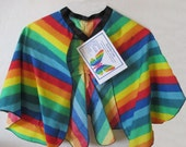 DIY Girl's Rainbow Butterfly cape Ready for decorating with glitter or jewels.