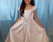 Girl's Satin White Ci...
