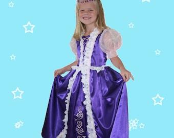 Tangled Rapunzel dress-up costume sz. 3-4