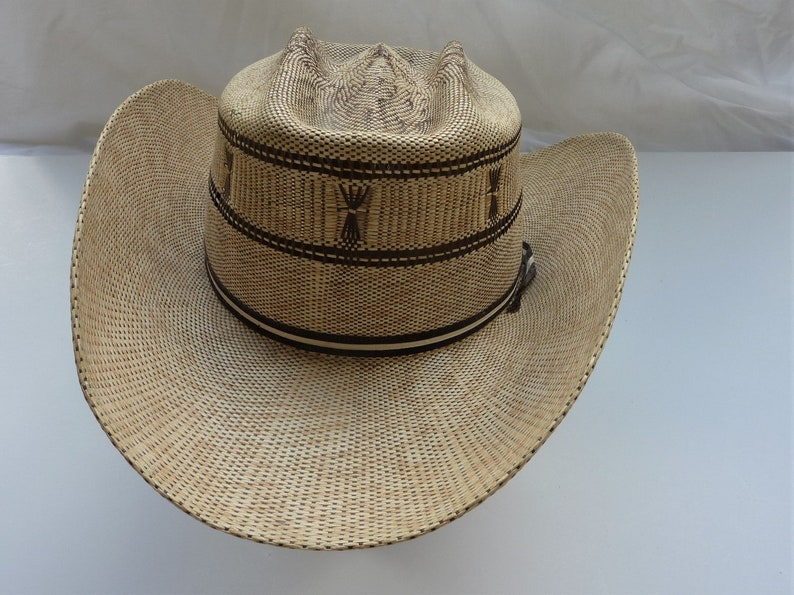 a7d560d260208 An awesome Koko Kooler Vintage 1950s Straw Cowboy Hat Size 7