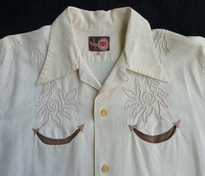 ef4ab990 Vintage 1940s 101 One-O-One Montgomery Ward Men's western | Etsy