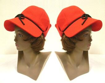 da33f6059ee 1970s Yves Saint Laurent Fashionare Deerstalker Hat