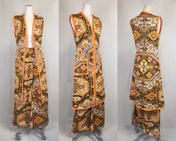 1960s Vintage Joy's Boutique Psychedelic Suit Set,