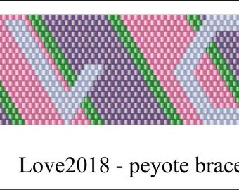 Love2018 Bird Bracelet Pattern .PDF File
