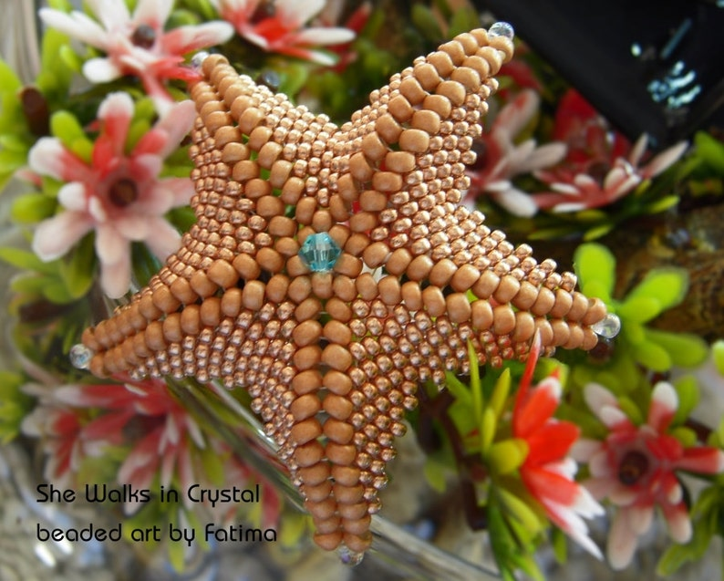 SEA STAR  Starfish   TUTORIAL  all about the shape image 0