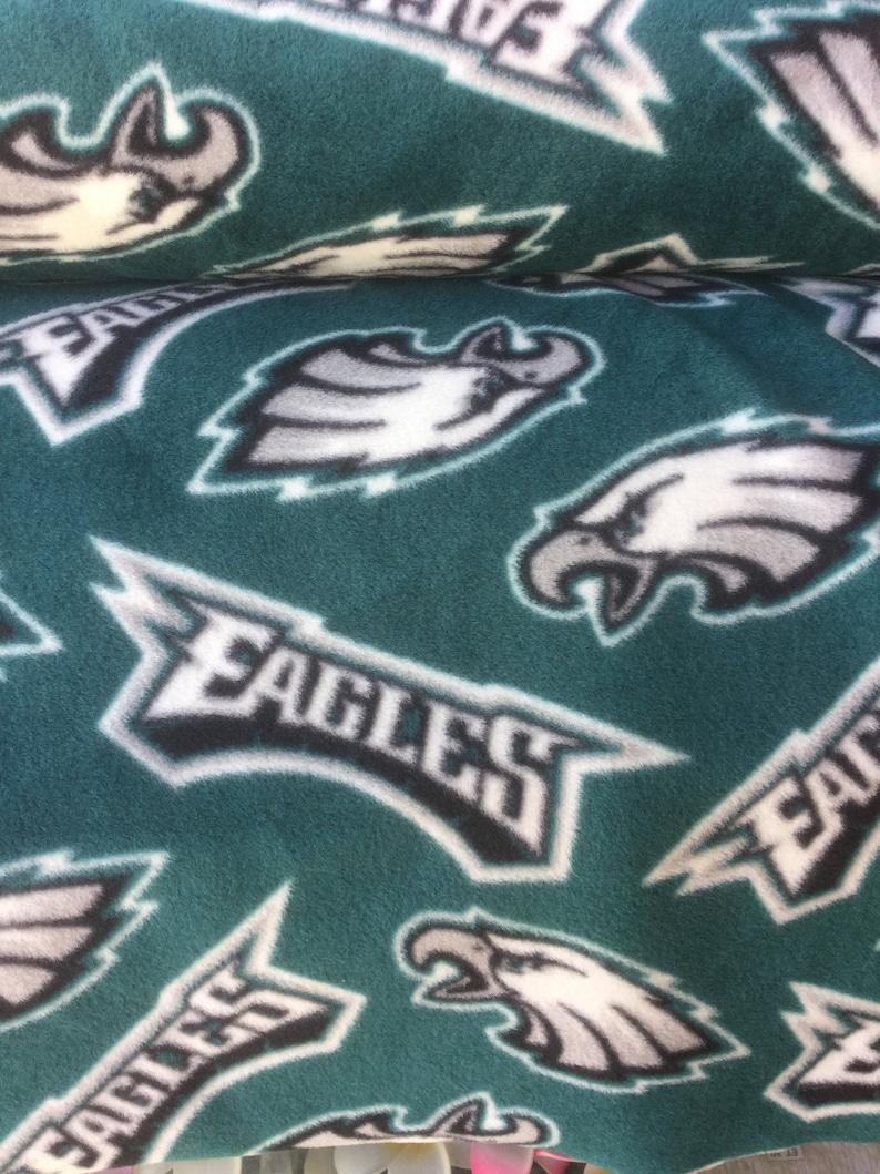 Philadelphia Eagles  Fleece Tie Blanket