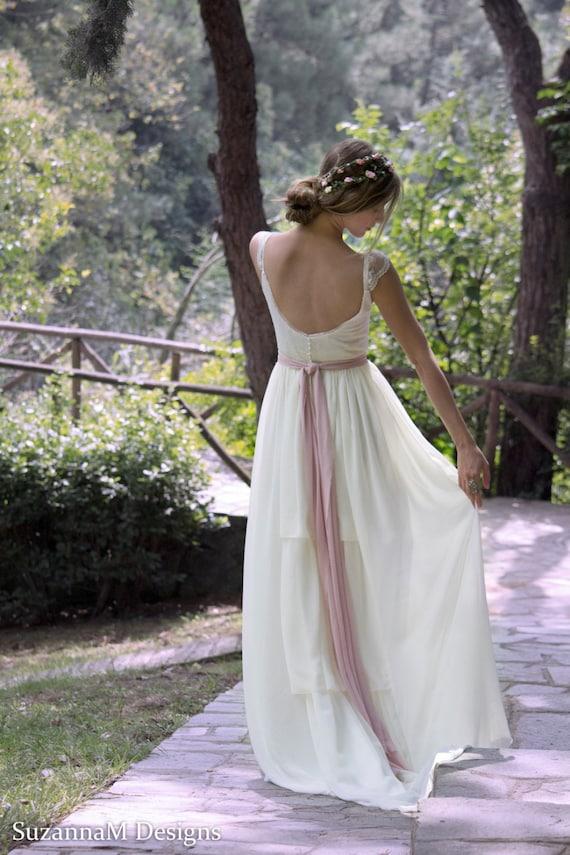 Wedding Dress Gypsy Wedding Dress Long Bridal Gown Boho | Etsy