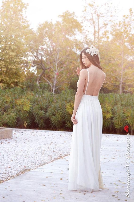 Gown Dress Long Dress Gown SuzannaM Cream Wedding Wedding Wedding Dress Dress Romantic Gold by Grecian Long Designs Wedding Wedding Handmade qzwtBOvxZz