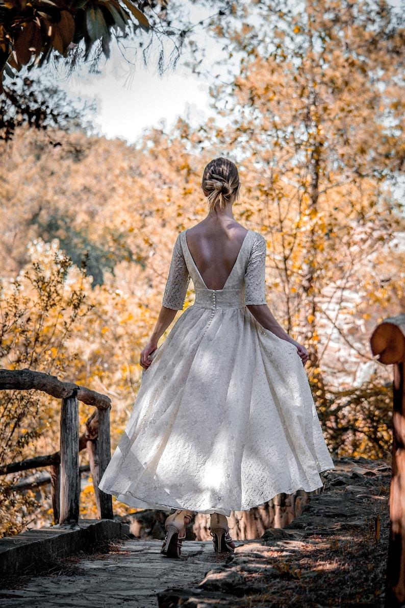 Robe mariée années 50 dentelle SuzannaM