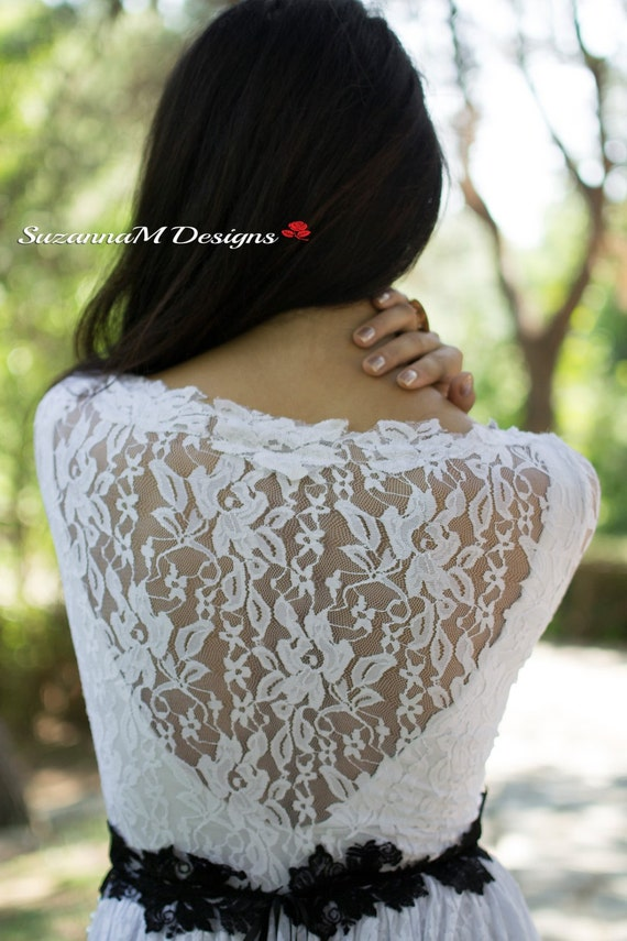 Dress Long Romantic Wedding Gown SuzannaM Wedding Designs Wedding Sleeve Lace White Dress Long Wedding Lace Handmade By Gown RtXqnSE0x