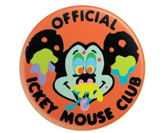 "Ickey Mouse Club 2.25"" pinback button"