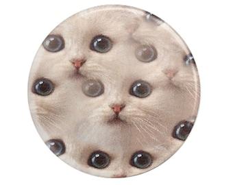"pinback button-2.25"" Cat Eyes pinback button"