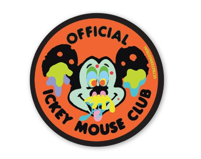 Ickey Mickey weatherproof sticker