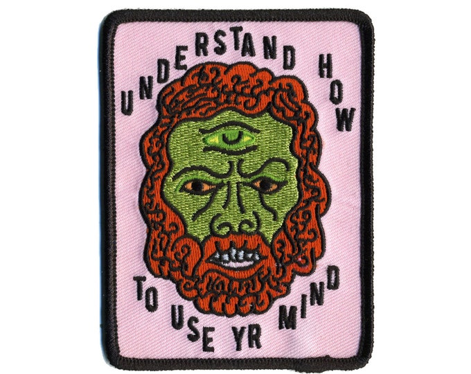Use Your Mind Cyclops patch