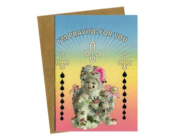 I'm Praying For You greeting card