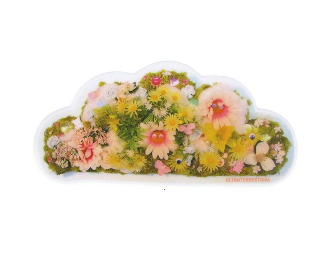 Moss Cloud vinyl sticker